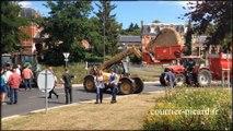 Beauvais : manifestation et blocage des agriculteurs en colère