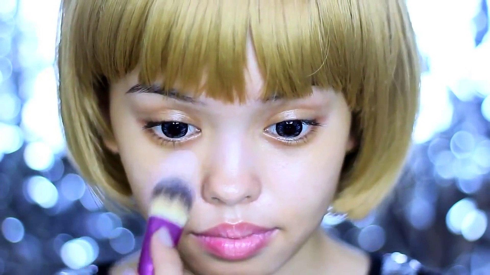 Kpop Star 2015:Makeup Tutorial How To Look Like A Kpop Star