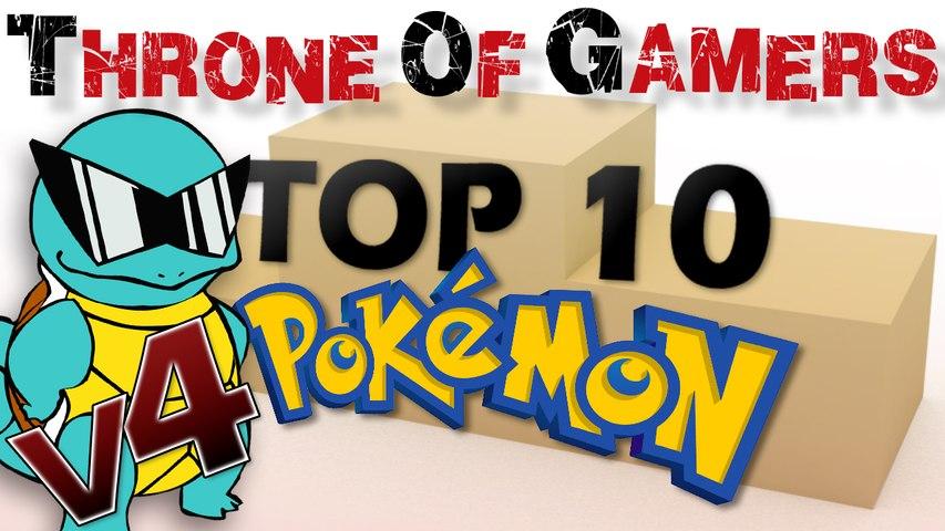 TOP 10 Pokémon : NewTiteuf toujours 1er ?