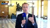 """Eleveurs: les autres acteurs que l'Etat """"doivent aussi s'engager """" selon le député PS Guillaume Garot"""