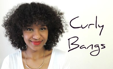 Cutting Bangs | Curly Hair