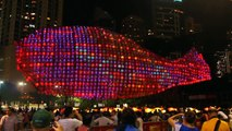 World's largest Lantern Sculpture in Hong Kong - Mid autumn Festival 2011