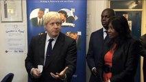 Boris Johnson visits Hammersmith with Shaun Bailey