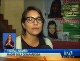 Angie Carrillo desapareció en Riobamba