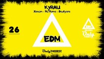 KYRAU - XENOM / NO NAME / DEALYERS [EP] #26 EDM electronic dance music records 2014
