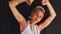 Miley Cyrus entfernt sich ihre Achselhaare