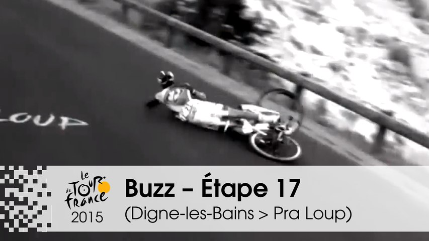 Buzz du jour / Buzz of the day - Van Garderen abandons and Pinot & Contador crashed - Étape 17 (Digne-les-Bains > Pra Loup) - Tour de France 2015