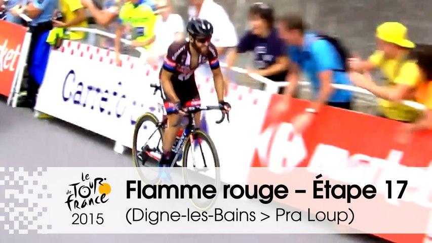 Flamme rouge / Last KM - Étape 17 (Digne-les-Bains > Pra Loup) - Tour de France 2015