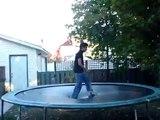 Yolanito trampoline backflip ... front flip ... ground