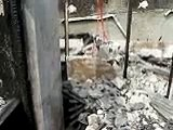 RDC - Destruction de la maison de Bruno Ossébi