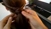 Beauty 101 - Google Glass Hair How-To: Twisted Ponytail