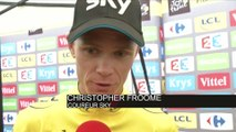 Cyclisme - Tour de France - 17e étape : Froome «Je n'ai pris aucun risque»