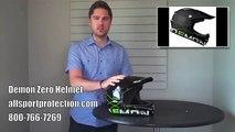 Demon Zero Full Face Helmet for Downhill Mountain Biking & BMX