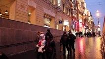 Санкт - Петербург зимой.