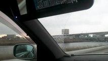 東日本大震災 大津波警報発令時に撮影した宮城県 七北田川 Tsunami japan