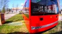 Trolejbus SOLARIS, autobus IVECO - mobil salon 2014 Č.Budějovice