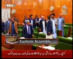 aaj tv funny video from asif raza mir Azad Kashmir And Its Assembly Are Bachoun Ki Assembly