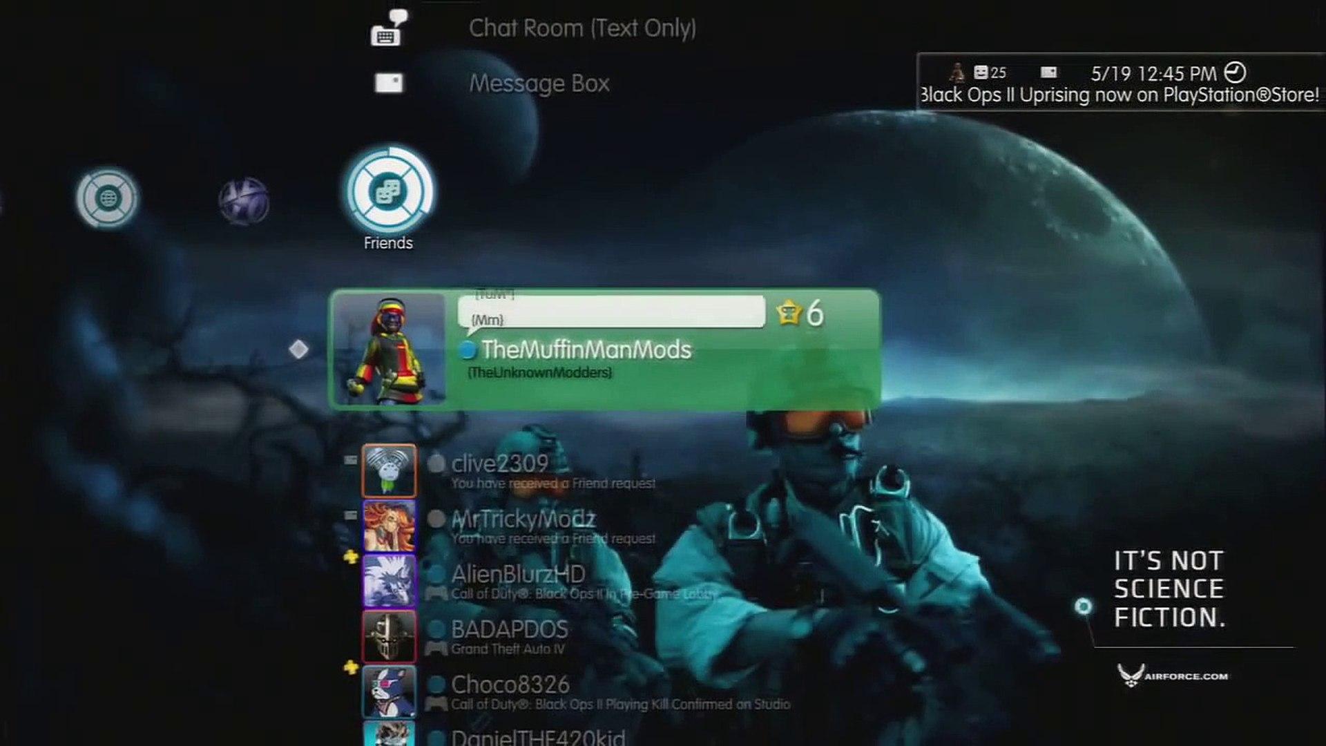 [PS3] Online/Offline Blackops Usb Zombie Mods 1 13 {No Jailbreak} [LINK]
