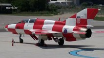 Croatian Air Force Squadron of MiG 21