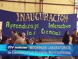 MODERNOS LABORATORIOS para ESCUELAS PÚBLICAS - Iquique TV