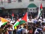 كلمة الرئيس محمود عباس من امام مسجد النبي يونس في حلحول 2009