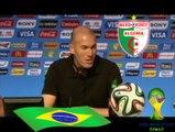 """Zinedine Zidane 2014 :"""" L'Algerie dans le coeur """""""