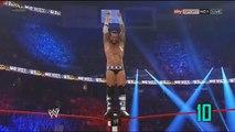 TOP 10 CM Punk Diving Elbow Drop by BITWCommunity.