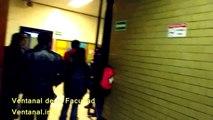 Estudiantes toman la Facultad de Filosofía y Letras UNAM para hacer un paro en apoyo al CNTE