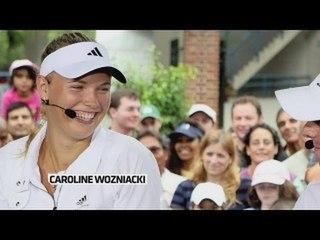 Les soeurs Williams conseillent Caroline Wozniacki