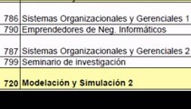 Pensum Ingenieria en Sistemas USAC 2009.