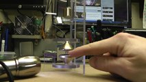 Diamagnetic Levitation Via Bismuth. No Power Supply, No Tricks, Just Science. :) RWGresearch.com