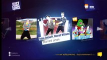 Just Dance 2014 Wii - Robin Thicke Ft. Pharrell Williams - Blurred Lines