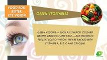 Food For Better Eye Vision | Best Food Tip | Educational Videos