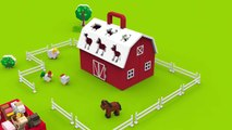 Farm animals video for children toddlers babies_Learn farm animals and their sounds in English