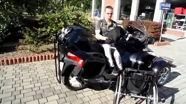 BRP Can-Am Spyder handicapped modification