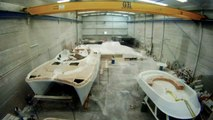 Flash Catamarans Shipyard, building power and sailing catamarans.