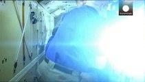 Sojus mit drei Astronauten erfolgreich an ISS angedockt