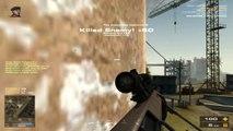 Battlefield P4F Play 4 Free Headshot Sniper Montage- M95 M24 SV98 SVD Sniping Gameplay HD