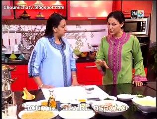 Couscous poulet au raisin sec et amande