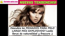 CORTES DE PELO LARGO 2016 ,  Tendencias Cabello Largo Mujer!!