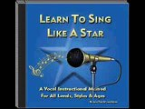 Singing Voice Lessons - Learn To Sing Like A Star 1&2