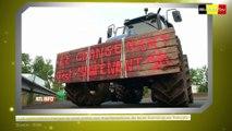 Les éleveurs belges soutiennent l'action des agriculteurs français