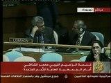 Le discours de Mouammar Kadhafi à la tribune de l'ONU 3