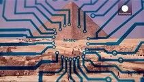 Djedi, le petit robot explore la Grande pyramide de Gizeh