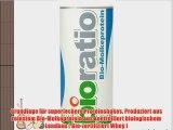 Bio Protein von BIORATIO: Bio Molkeprotein 500g fuer leckere Shakes reinstes Bio Proteinpulver