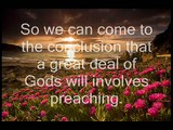 Why Jehovahs Witnesses Preach