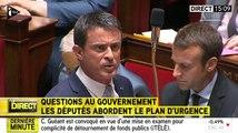 Gros clash entre Christian Jacob et Manuel Valls - ZAPPING ACTU DU 23/07/2015