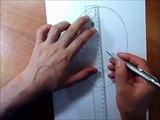 دروس في تعليم الرسم من الالف الى الياء - كيف تخطط وجه الانسان تحت قاعدة ثابتة - الدرس الثاني