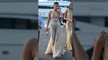 Irina Shayk Sizzles In St Tropez At Leonardo DiCaprio's Foundation Party