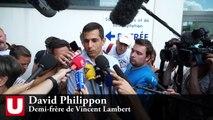 "David Philippon: ""Vincent Lambert a besoin de protection"""